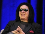 "Gene Simmons appearing at the ""Reality Royalty"" panel during the Realscreen Factual Entertainment Forum."