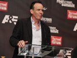 """Bunim/Murray Productions chairman/co-creator of """"The Real World"""" Jon Murray accepts his Hall of Fame award during Realscreen's Factual Entertainment Awards in Santa Monica, June 2011."""