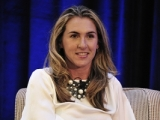 History and Lifetime Networks president and general manager Nancy Dubuc during her keynote conversation at Realscreen's Factual Entertainment Forum in Santa Monica.