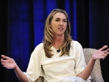 History and Lifetime Networks president and general manager Nancy Dubuc takes a question from the audience during her keynote conversation at Realscreen's Factual Entertainment Forum, June 2011.