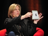 """spike tv's evp original series & animation sharon levy gives her thoughts on a pitcher during """"so you think you can pitch?"""""""