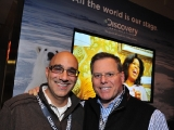 Discovery & TLC EVP and group COO Edward Sabin and Discovery Communications president and CEO David Zaslav