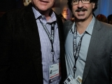 Original Productions' Philip Segal and Jeff Conroy at A+E Networks Opening Party