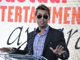 Lance Bass, host of the 2012 Realscreen Factual Entertainment Awards. (Photo: Rahoul Ghose)