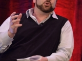 """Leftfield Pictures' owner Brent Montgomery discusses network notes during """"This Note's for You"""" at Realscreen West 2012. (Photo: Rahoul Ghose)"""