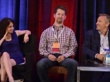 "Attorney Nicole Page, Kinetic Content CEO Chris Coelen, and National Geographic Channels CEO David Lyle discuss international rights in ""Sharing the Wealth"" at Realscreen West 2012. (Photo: Rahoul Ghose)"
