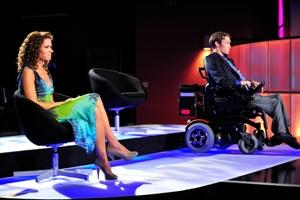 Your OWN Show: Episode 108: Kristina Kuzmic-Crocco and Zach Anner wait for judges verdict.