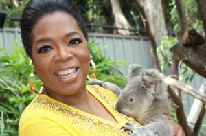 Oprah and koala