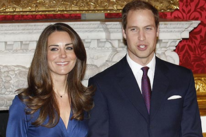 Kate Middleton and HRH Prince William