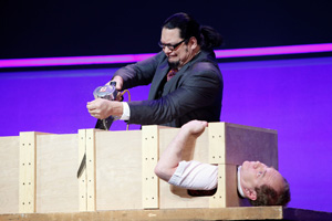 Penn & Teller at Discovery Communication's Upfronts