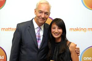 One World Media Award recipient Ling Lee