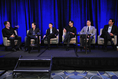 The Non-Scripted Network Stars panel at the 2011 Factual Entertainment Forum in Santa Monica. Photo: Rahoul Ghose