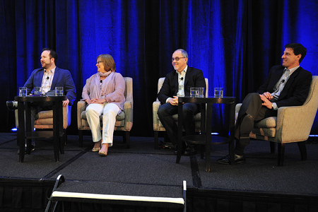 Panelists at the 'Anatomy of a Pawn Star' session at the 2011 Factual Entertainment Forum. Photo: Rahoul Ghose