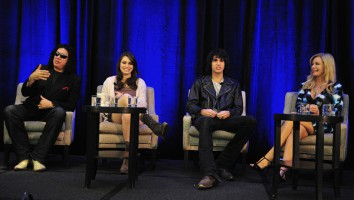 The Simmons family onstage at Realscreen's Factual Entertainment Forum. (C) 2011. Photo: Rahoul Ghose