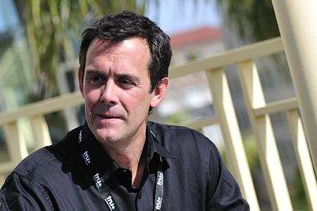 Tim Baney at Realscreen's Factual Entertainment Forum in Santa Monica