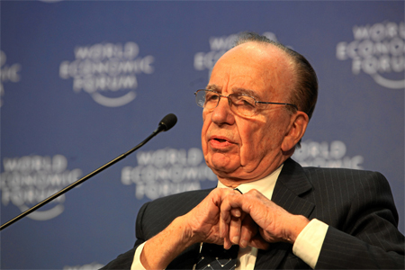 Rupert Murdoch at the World Economic Forum Annual Meeting Davos 2009 (c) World Economic Forum swiss-image.ch/Photo by Monika Flueckiger. Used under a creative commons licence - some rights reserved.