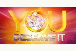 you deserve it