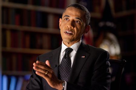 Barack Obama. Credit: official White House photo