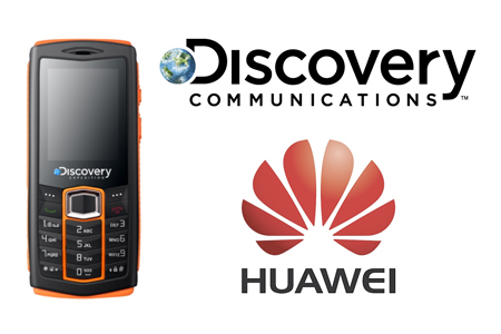 The Huawei-Discovery Expedition phone