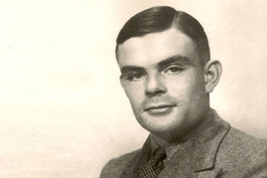 "Alan Turing, subject of ""The Hero of Station X"""