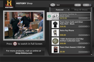 Delivery Agent T-commerce app for History