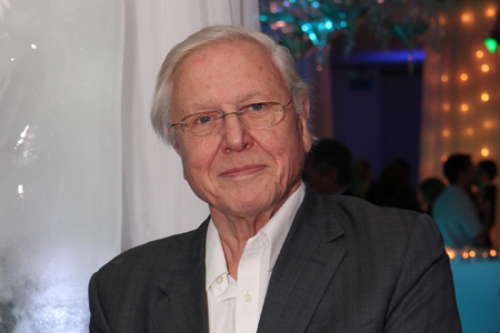 Sir David Attenborough. Photo courtesy of Sky