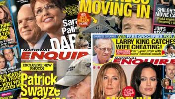 National Enquirer montage