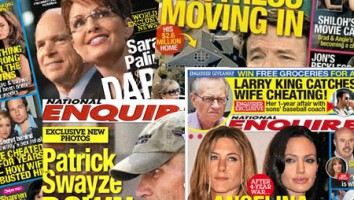 National Enquirer montage