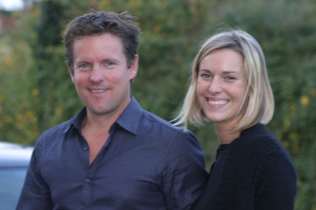 Richard and Katy Hopkins. Picture courtesy of the Hopkins family
