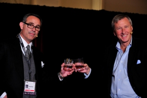 David Lyle and Craig Piligian at the 2012 Realscreen Summit. Photo: Rahoul Ghose