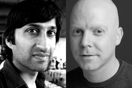 Asif Kapadia (left) and Paul Bell