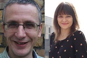 Nick Mirsky (left) and Lina Prestwood