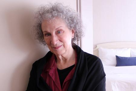 Margaret Atwood. Photo by Adam Benzine