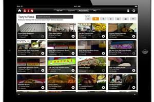 Travel Channel Layover iPad app
