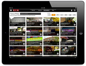 Travel Channel Layover iPad app