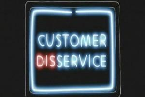 customer disservice