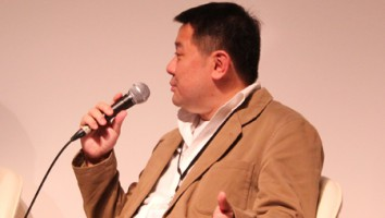 Derek Wong at Asian Side of the Doc 2012.