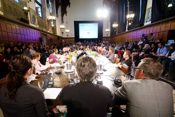 The 2012 Hot Docs Forum at Hart House in Toronto. Photo by Joseph Michael