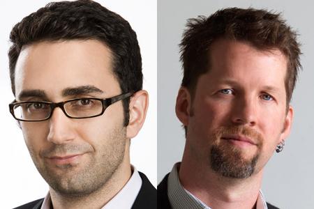JC Mills (left) and Chris Coelen