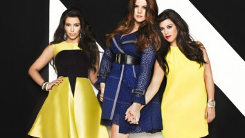 The Kardashian sisters. Photo: E! Entertainment