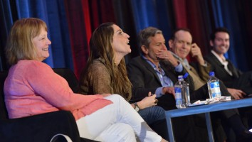 The 'Characters Count' session at Realscreen West 2012. Photo: Rahoul Ghose