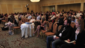 Delegates at Realscreen West 2012. Photo: Rahoul Ghose