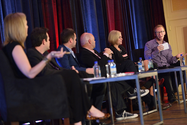 The 'Amping Up Unscripted' session at Realscreen West 2012. Photo: Rahoul Ghose