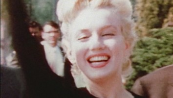 "Marilyn Monroe in a production still from ""Love, Marilyn"""