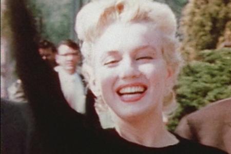 "Marilyn Monroe in a production still from ""Love, Marilyn"""