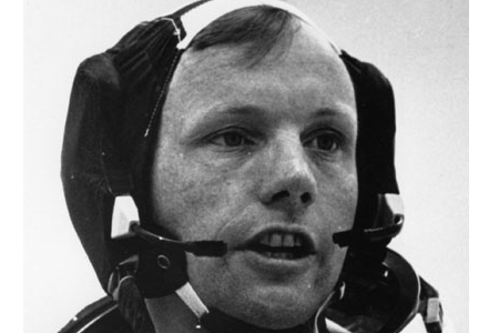 Astronaut Neil Armstrong. Photo: History
