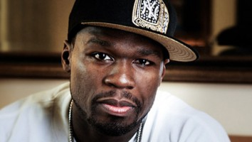 "Curtis '50 Cent' Jackson in the a still from the doc ""How To Make Money Selling Drugs"""