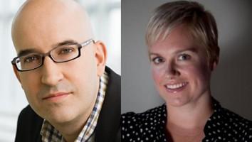Jon Sechrist and Sarah Thornton