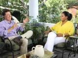 Oprah Winfrey and Stephen Colbert