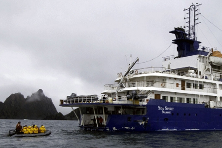 Quark Expeditions' Sea Spirit